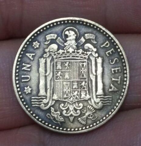 Moneda 1 Peseta 1963*65