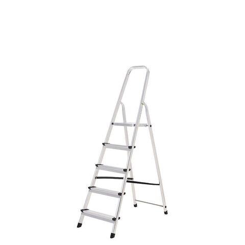 Escalera Aluminio Oryx 8 Peldaños Domest