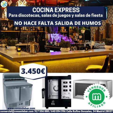 COCINA PARA DISCOTECAS Y SALAS DE JUEGOS - foto 1