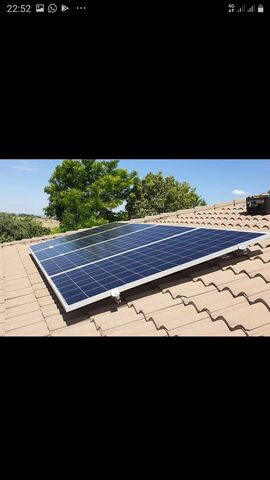 Panel Solar 335W 24V 72 Celulas Nuevo