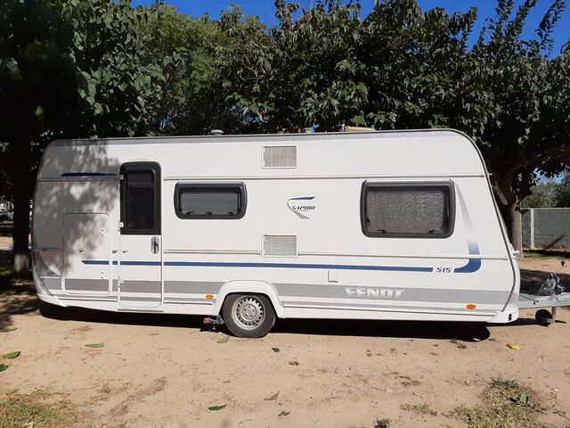 CARAVANA FENDT SAPHIR 515 - foto 1
