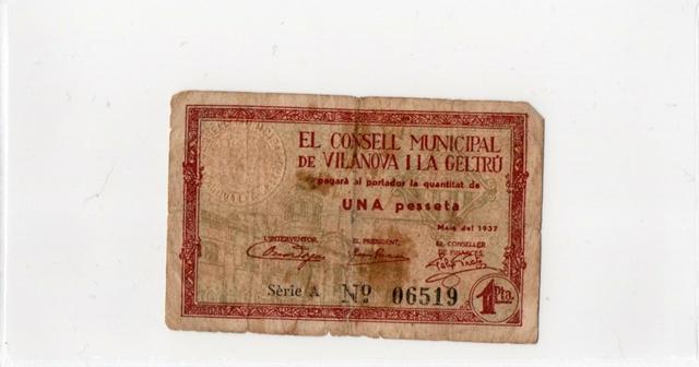 4 Billetes De Pesetas Españolas
