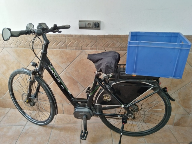 Oferton Bicicleta Eléctrica Hercules.