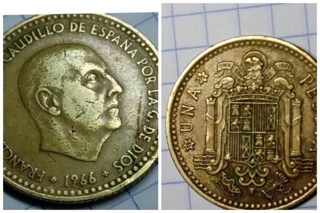 Peseta De Franco 1966 *19-75