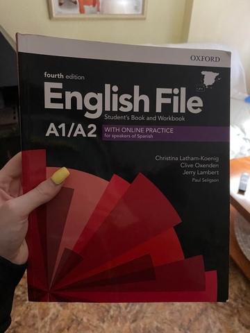 ENGLISH FILE A1/A2 ESCUELA DE IDIOMAS - foto 1