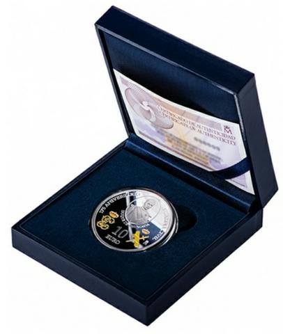 Moneda De Plata De 10E Del 175°Guardia: