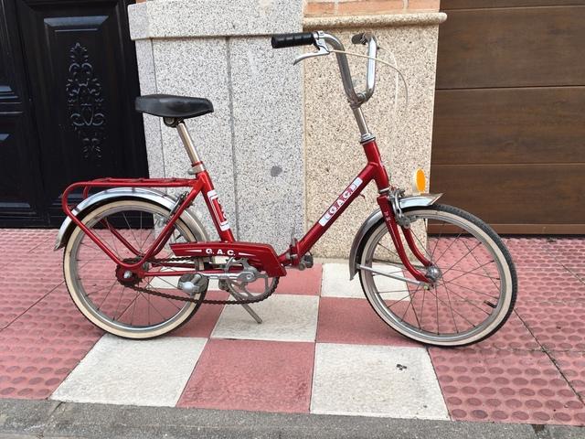 Bicicleta De Paseo G. A. C De Niño
