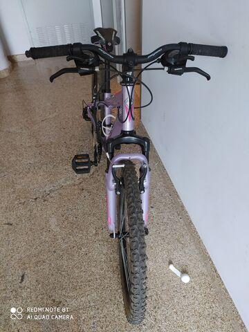 Bicicleta Megamo Open Niña Lila
