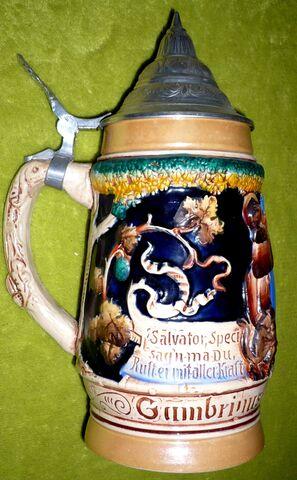 Jarra Cerveza Vintage