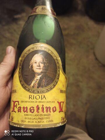 Botella Vino 28Años