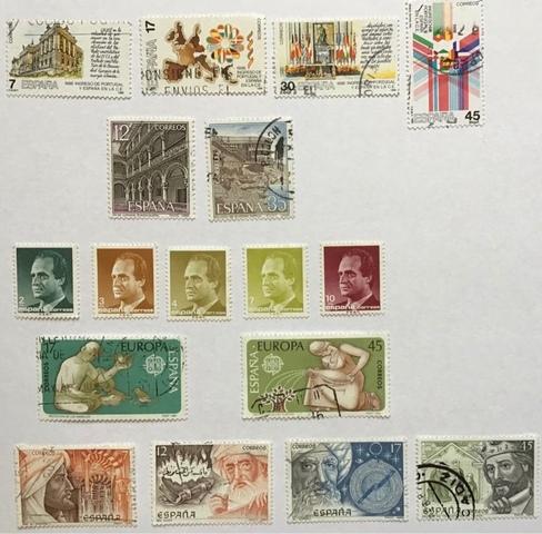 Sellos Series España 1986