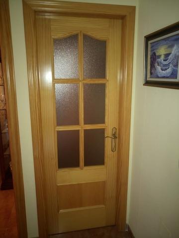 Puertas De Interior Con Vidriera