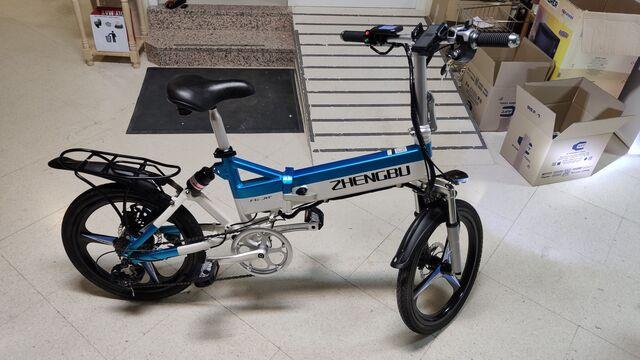 Bicicleta Eléctrica Plegable Patinete