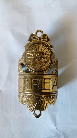 1930 Chapa Orbea De Bici De Varillas An