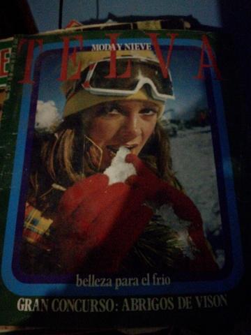 Revistas Telva Antiguas