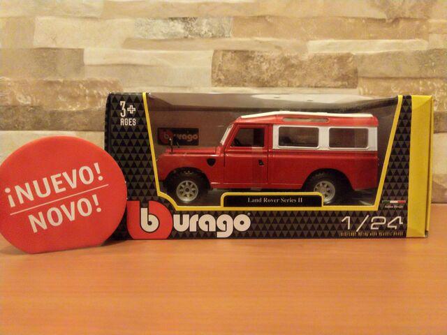 Burago - Land Rover Series Ii