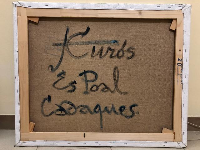 OBRA ORIGINAL CADAQUES DE J. CUROS.  - foto 2