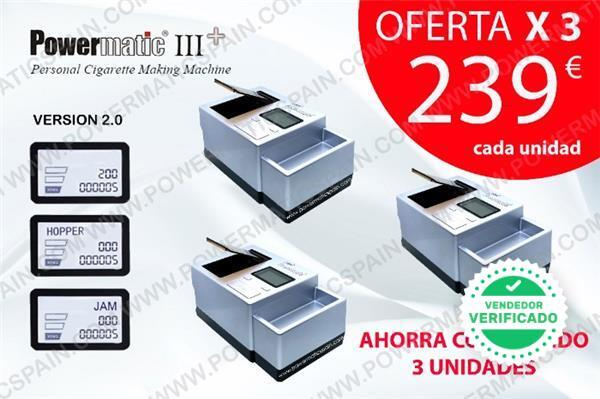 PACK OFERTA 3 UNIDADES POWERMATIC 3 PLUS - foto 1
