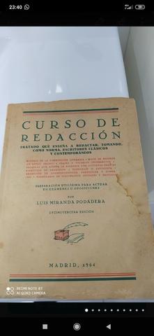 CURSO DE REDACCION,  MADRID 1964 - foto 1