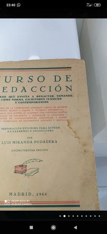 CURSO DE REDACCION,  MADRID 1964 - foto 2
