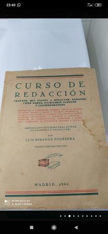 CURSO DE REDACCION,  MADRID 1964 - foto 3