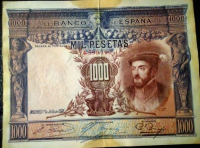 Billete 1000 Ptas. 1925
