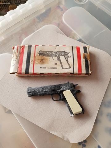 Pistola De Juguete Antiguo Avc