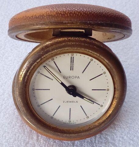 Reloj Despertador De Viaje Europa