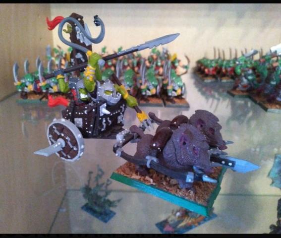 Carro De Combate Orco Warhammer