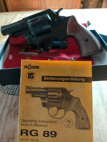 Revolver Rg89 Fogeo Y Pistola Balines