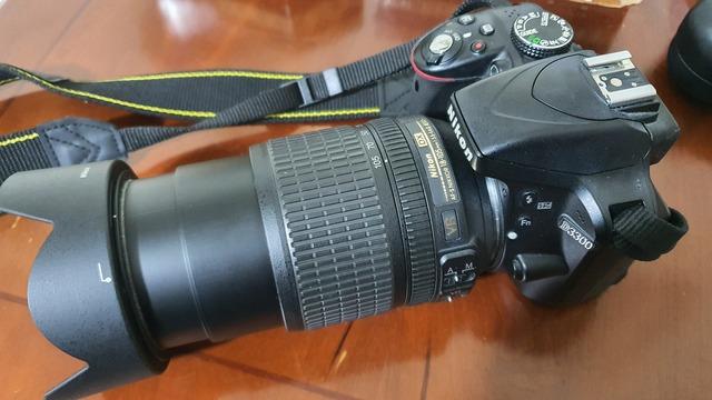 CAMARA REFLEX NIKON D3300+OBJETIV 18-105 - foto 2