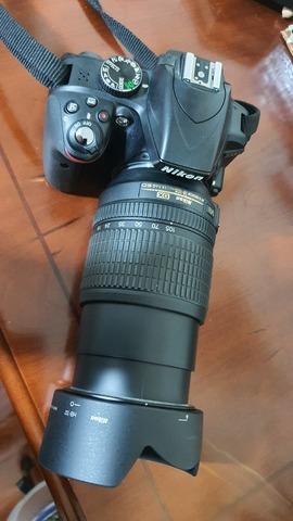 CAMARA REFLEX NIKON D3300+OBJETIV 18-105 - foto 1