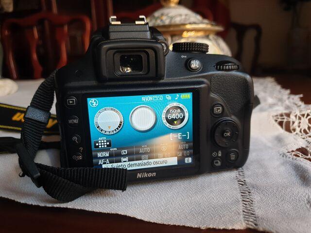 CAMARA REFLEX NIKON D3300+OBJETIV 18-105 - foto 3