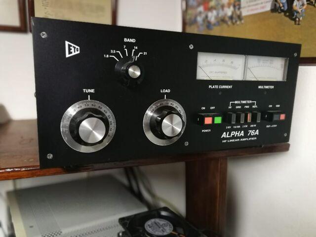 AMPLIFICADOR LINEAL ALPHA 76A - foto 1