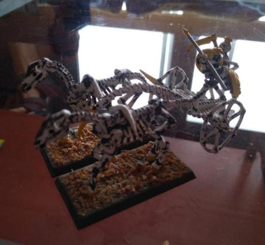 Carro De Combate Esqueletos Warhammer