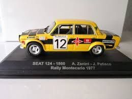 Seat 124-1800 Mointecarlo 12 1:43  1977