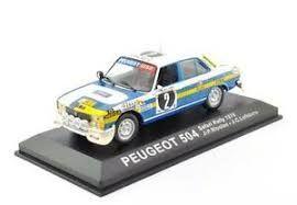 Peugeot 504 Safary 1976 1:43