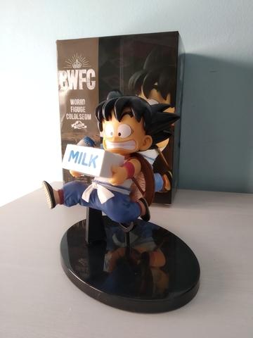 Figura Nueva Goku Milk