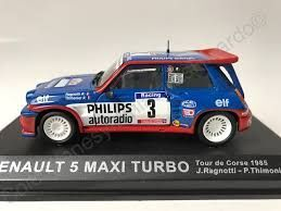 Renault 5 Maxi Turbo Tour Corse 1985