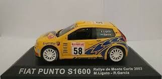 Fiat Punto S1600 2003 1:43