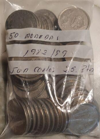 50 Monedas  25 Pesetas.