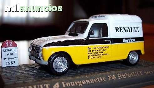Renault 4 Furgonette F4 Renault Service
