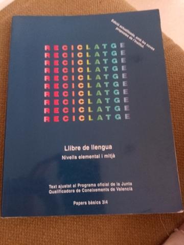 LIBRO RECICLATGE NIVEL ELEMENTAL Y MEDIO - foto 1