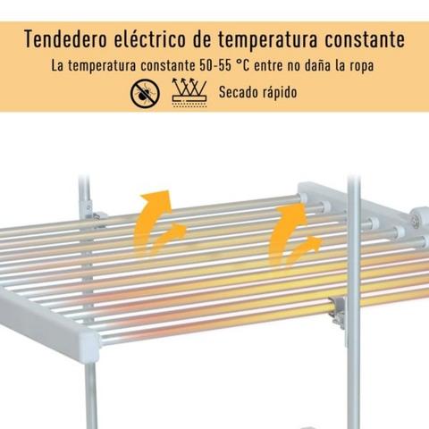 TENDEDERO ELÉCTRICO PLEGABLE 3 NIVELES S - foto 5
