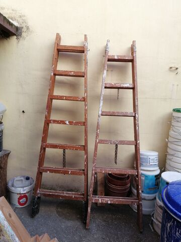 Escaleras Madera Pintor