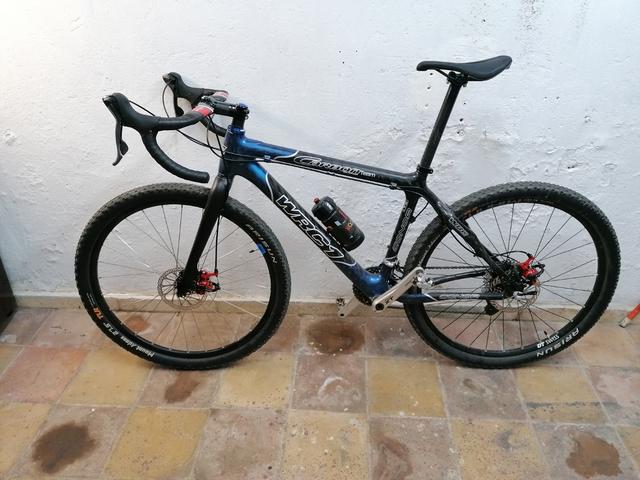Vendo Bicicleta Entera De Carbono