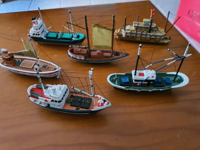 Barcos Miniaturas