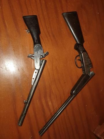 Escopetas Miniaturas Antiguas