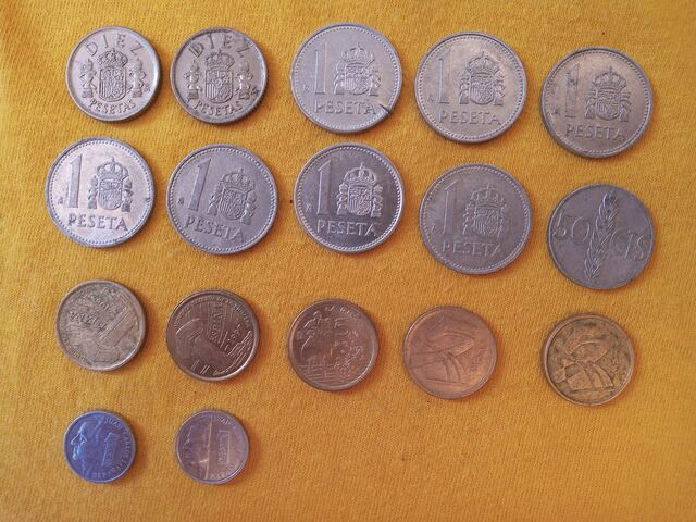 Monedas Anteriores Al Euro