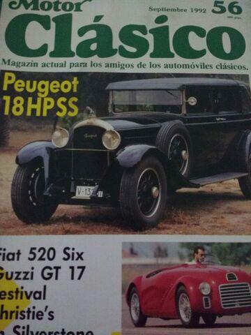 Motor Clasico, Revistas